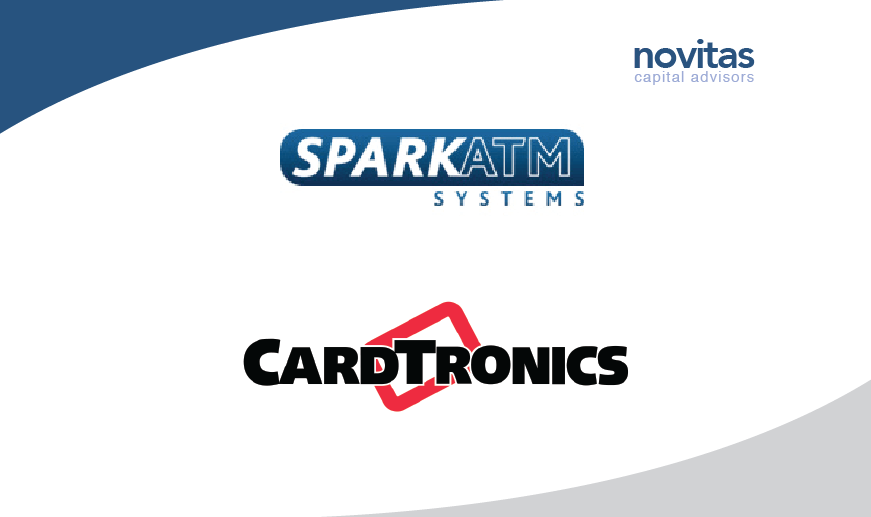 Novitas advises the shareholders of Spark ATM Systems on its sale to Cardtronics