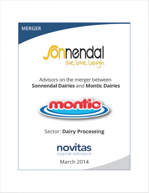 Novitas - advisors on Sonnendal Daries and Montic