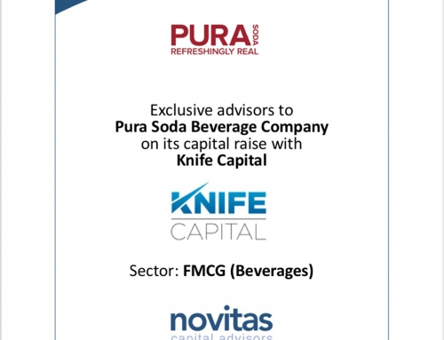 Pura Soda Beverage Company & Knife Capital
